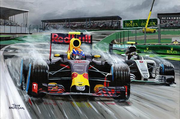 Formule 1 Schilderijen