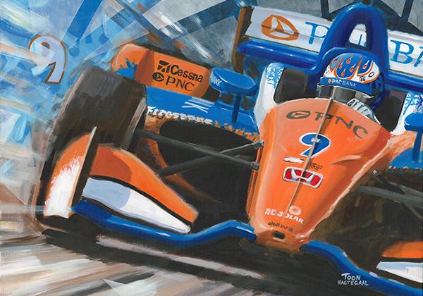 Scott Dixon Chip Ganassi Honda 2018