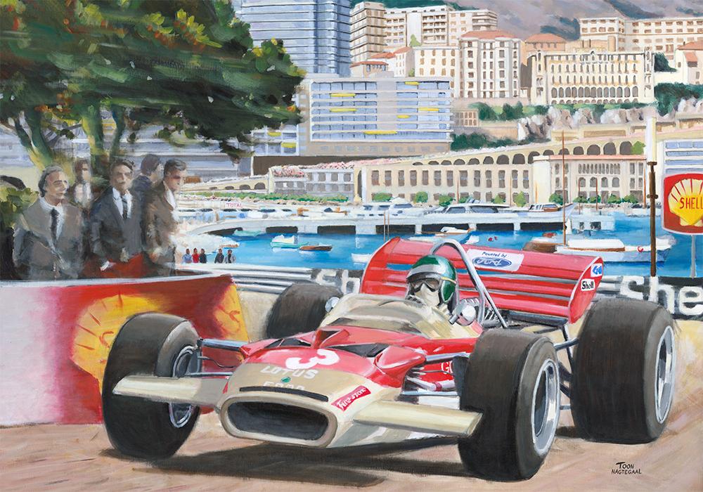 Manfred von Brauchitsch wint de GP van Monaco (1937)