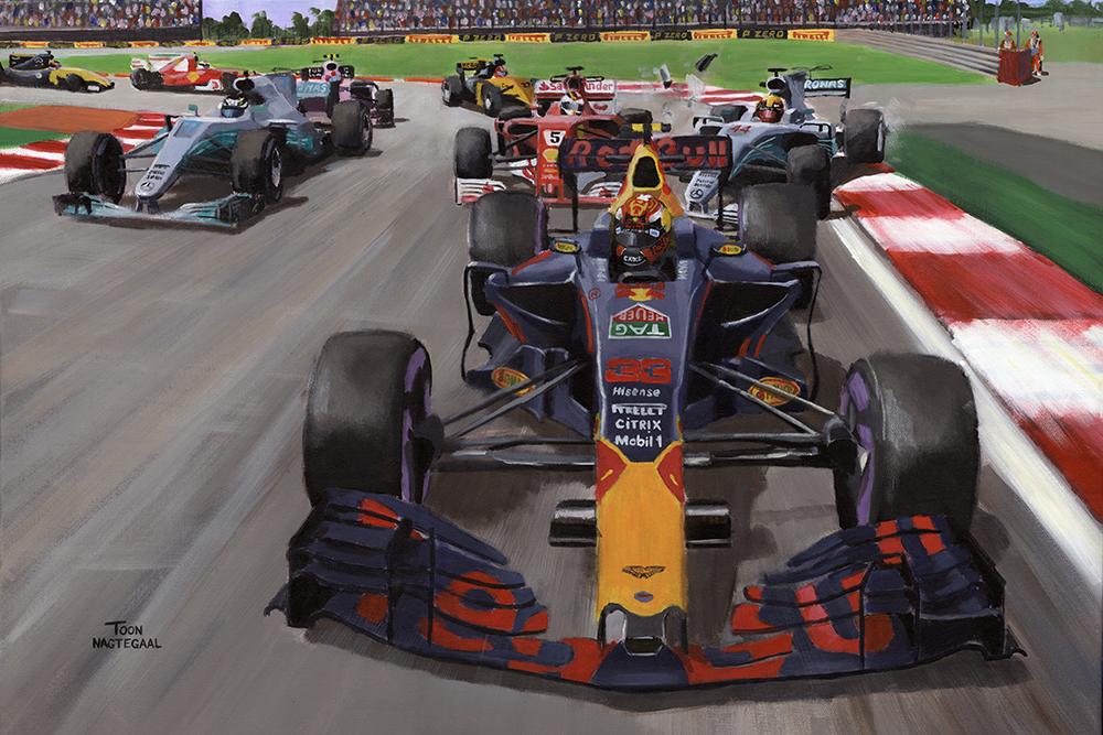 Verstappen wint de GP van Mexico 2017