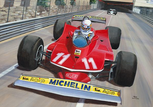 Monaco 1979 Jody Scheckter
