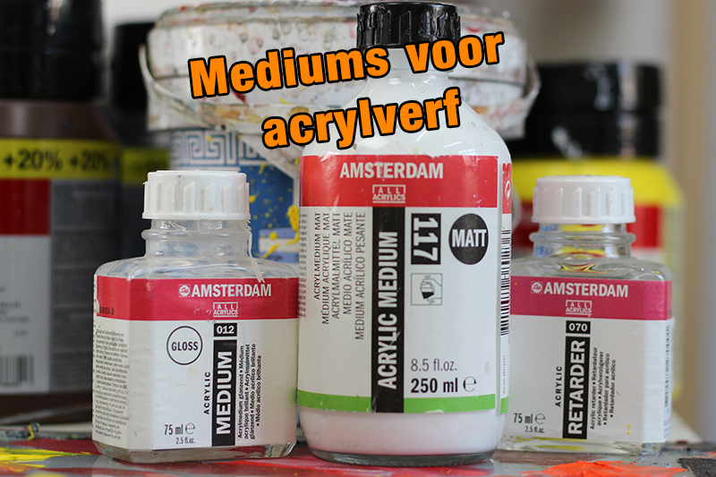 mediums voor acrylverf