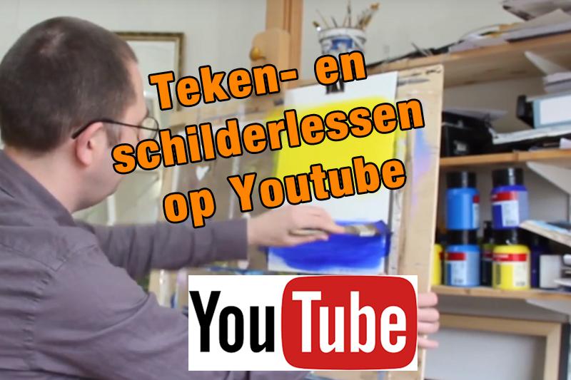 schilderles op youtube